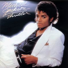 """Michael Jackson's 'Thriller' celebrates anniversary Ready to feel old? marks the anniversary of Michael Jackson's sixth studio album, """"Thriller. Michael Jackson Thriller, Thriller Jackson, Michael Jackson Album Covers, Paul Mccartney, 80s Musik, Black Is Beautiful, Beautiful Songs, Thriller Album, Thriller Video"""