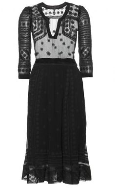 Isabel Marant Black Dress | VAUNTE