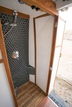 Sprinter Van Bathroom: Pros and Cons & Would I do it again? - camping Auto - Sprinter Van Bathroom The Effective Pictures We Offer You About van life ideas A quality picture c - Van Conversion Bathroom, Van Conversion Interior, Camper Van Conversion Diy, Cargo Trailer Conversion, Sprinter Van Conversion, Camper Bathroom, Tiny House Bathroom, Toyota Hiace, Sprinter Camper