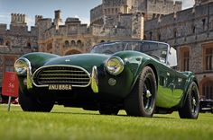 Pure perfection. British racing green with English tan leather interior.