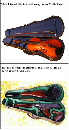 classical music humor on Tumblr #violin #violin_case #funny
