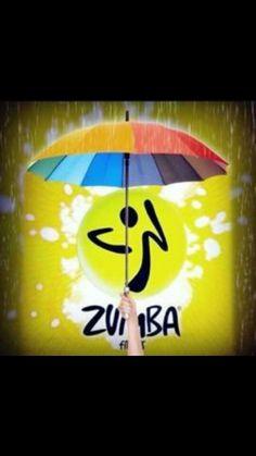 Zumba today rain or shine