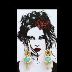 Handmade #pgaccesorios #chapadeoro #earrings #enventa #jewelry