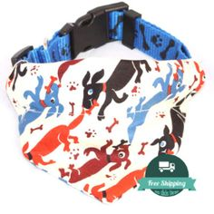 Wag n Bone Handmade Dog Bandana | Waggy Campers