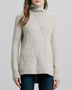 Уютная диагональ - свитер-оверсайз спицами. Обсуждение на LiveInternet - Российский Сервис Онлайн-Дневников
