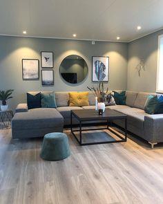 Living Room Decor Colors, Home Decor Bedroom, Home Living Room, Interior Design Living Room, Living Room Designs, Classy Living Room, Home Room Design, House Rooms, Basement