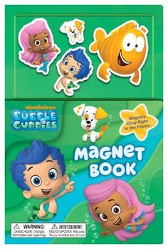 Bubble Guppies Magnet Book (Board Book) - Free Shipping