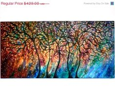 Mothers Day Sale thru Mon Large oil painting by jeanvadalsmith, $257.40