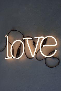 LOVE Neon Light by Rocket St George