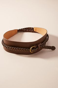 Slide View: 2: Minta Braided Belt
