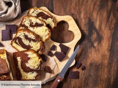 Delicious homemade marble pound cake on wooden background, top view by KateSmirnova. Delicious homemade marble pound cake on wooden background, top view Chefs, Choco Loco, Marble Pound Cakes, Cake & Co, Kombucha, Nutella, Biscuits, Deserts, Food And Drink