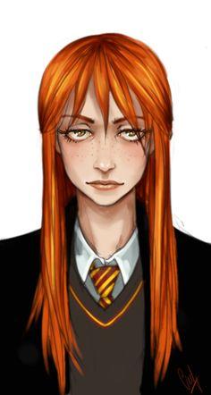 Ginnie Weasley by LiaBatman on DeviantArt