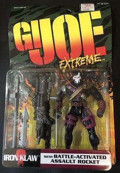 GI JOE EXTREME IRON KLAW BATTLE ACTIVATED ASSAULT ROCKET 1995 KENNER MOC  4.25''   Toys & Hobbies, Action Figures, Military & Adventure   eBay!