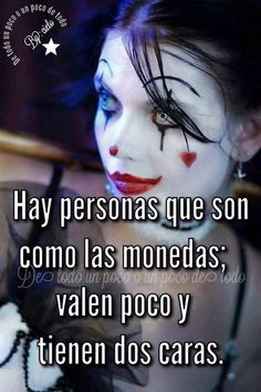 La del fondo :'v Joker And Harley, Harley Quinn, Motivational Phrases, Inspirational Quotes, Quotes En Espanol, Jenni Rivera, Don Juan, Little Bit, Fake Friends