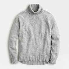 Shop J.Crew for the Turtleneck sweater in supersoft yarn for Women. Find the best selection of Women Clothing available in-stores and online. J Crew Style, My Style, Sweater Shirt, Men Sweater, Clothes For Sale, Clothes For Women, Discount Mens Clothing, Grey Turtleneck, Crew Clothing