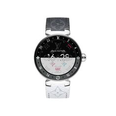 Products by Louis Vuitton: Tambour Horizon Monogram Eclipse Canada Website, Usa Website, Tambour, Louis Vuitton Watches, Grey Watch, Stainless Steel Polish, Damier, Black Sapphire, Overnight Shipping