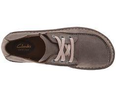 Clarks Забавный сон коричневой кожи - 6pm.com