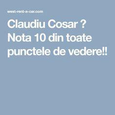 Claudiu Cosar - West Rent a Car