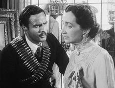 "mis actrices preferidas — Marlon Brando-Mildred Dunnock ""¡Viva Zapata!""... Gene Tierney, Gary Cooper, Gene Kelly, Katharine Hepburn, Marlon Brando, Elia Kazan, Actresses"