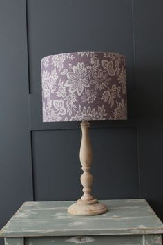 Orrisa Parma Violet Drum Lampshade