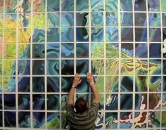 50 Years, 1 Imagination: Man Draws 2000 Sq Ft Map by Hand