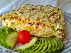 Érdekel a receptje? Kattints a képre! Hungarian Recipes, Hungarian Food, Lasagna, Quiche, Bacon, Eggs, Chicken, Breakfast, Ethnic Recipes