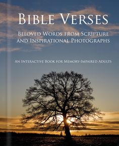 Bible Verses Book for Alzheimer's and Dementia Patients (03-30-16 book was approx $20)