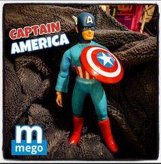 Mego captain America