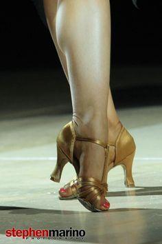 My motivation - Liana Churilova's feet (photographed by Stephen Marino at 2012 Dance Legends)