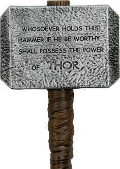 Thor's Hammer I'm going to buy this and have 0 regrets