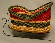 Over the Mountain Studio Tour: Anne Bowers, Heirloom Baskets