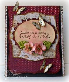 Beautiful #homemade #greeting #card