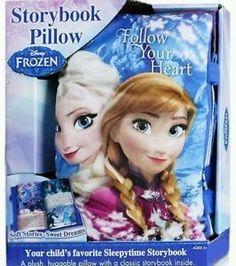 Disney Frozen Storybook Pillow