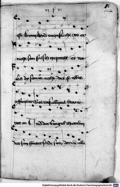 Mönch von Salzburg. Oswald von Wolkenstein: Geistliche Lieder mit Melodien Bayern/Österreich, erste Hälfte 15. Jh.: 3. Viertel 15. Jh. Cgm 715 Folio 175