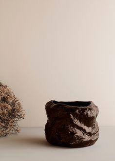 The Autumn Winter 2019 collection from Ferm Living — Design Hunter Die Macher, Fall Winter, Autumn, Large Plants, Burke Decor, Organic Shapes, Sculpting, Vases, Handicraft