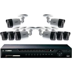 Lorex Lhv22161Tc8 16-Channel Mpx 1080P Hd 1Tb Dvr With 8 1080P Cameras