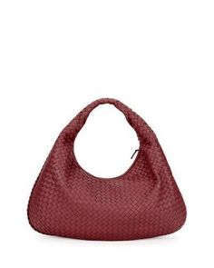 1a7690f9cf86 Bottega Veneta Veneta Intrecciato Large Hobo Bag