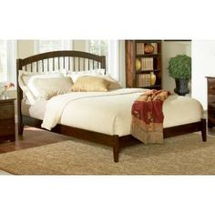 Check out the Atlantic Furniture AP945100 Windsor King Bed with Open Foot Rail priced at $497.70 at Homeclick.com.