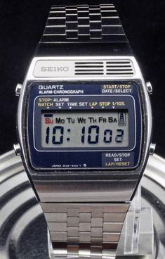Seiko LC Retro Watches, G Shock Watches, Casio G Shock, Vintage Watches, Cool Watches, Mens Watches For Sale, Hifi Stereo, Alarm Set, Digital Watch