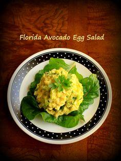Florida Avocado Egg Salad Recipe spacegirlorganics.com