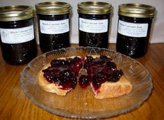 Fox Moor Black Currant Jam Recipe    This makes the best jam every!!    5 cups of black currants (1 quart)   4 cups sugar  1/4 cup lemon juice