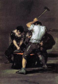 La Forge, 1819 - Francisco de Goya