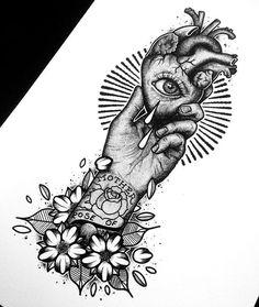 ✨All finished✨ I'll be getting some new designs and tees on my Etsy soon #heart #heartinhand #illustration #dotwork #blackwork #iblackwork #darkartists #darkart #tattoo #tattoodesign #flashaddicted #flashworkers #rosetattoo #ukartist #art #artwork #handmade #worldofpencils #artcollective #blackink #goth #anatomy #ink #drawing #sailorjerry #traditional #eyetattoo #blxckink #blackworkers #stippling