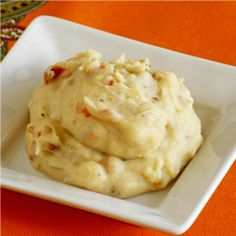 Garlic Mashed Potatoes. The fluffiest mashed potatoes ever.