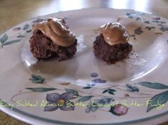 Easy Salted Almond Butter Coconut Butter Fudge - The Moderately Crunchy Mommy