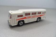 Vintage Toy Tomica Fuji 50's Semi-Decker Bus