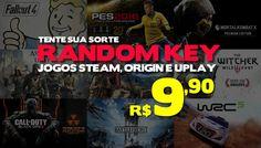 Random Key: 30 Jogos de R$209,70 por R$ 79,90 em até 6x Sem Juros
