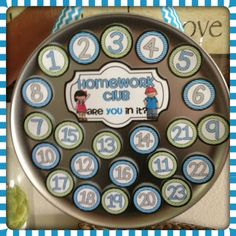 I've done a homework club for 7 years and it really works!  I love this display idea!  Must make this!