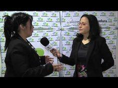 Entrevista a Mar Galván, experta en cava y análisis sensorial en el marco de Iberovinac Enoturismo 2015- 16º Salón del Vino y la Aceituna de Almendralejo.  M...