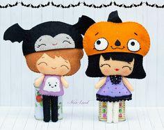 Niños con gorritos de halloween. Halloween 2013.